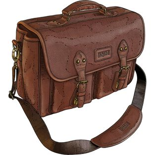 Leather Bashful Billionaire's Bag 2.0 BROWN