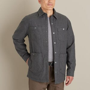 Men's AKHG Trapline Flannel Relaxed Fit Shirt Jac