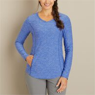 Women's Armachillo Cooling Long Sleeve T-Shirt BLU