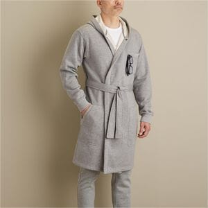 Men's Souped-Up Sweats with Storm Cotton Hooded Robe