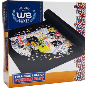 Collapsible Puzzle Roll-Up Mat