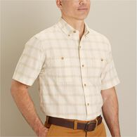 Men's Hemp F.O.M Short Sleeve Pattern Shirt CRIPLA