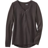 Women's Dry and Mighty Long Sleeve V-Neck Henley B