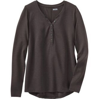 Women's Dry and Mighty Long Sleeve V-Neck Henley