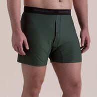 Men's Buck Naked Performance Boxers BLACK LRG