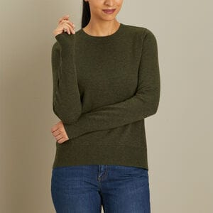Women's Wash-a-Wool Merino Sweater