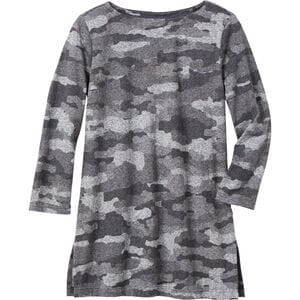 Lightweight Longtail T 3/4 Sleeve Boatneck Tunic
