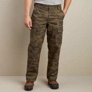 Men's DuluthFlex Fire Hose Relaxed Fit Camo Cargo Pants