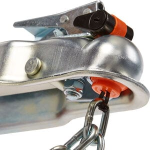 Anti-Theft Trailer Coupler Ball and Lock