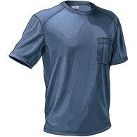 Men's Dry on the Fly Waffle Crew OCEANBL XLG