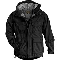 Men's No-Rainer Waterproof Rain Jacket BLACK LRG R