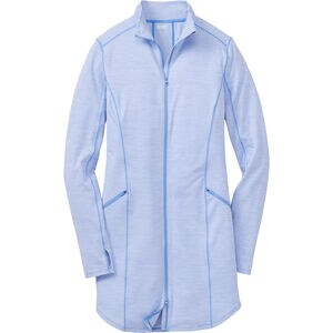 Women's Plus Pier Genius Full Zip Tunic