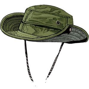 Men's Ventilated Booney Hat