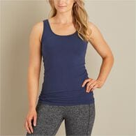 Women's No-Yank Scoop Neck Tank RICPLUM XSM