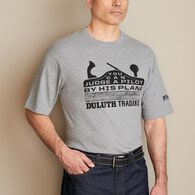 Men's Longtail T Plane Logo T-Shirt