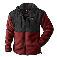 Men's Alaskan Hardgear Bear Hide Hooded Jacket DRK