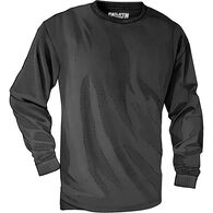 Men's Longtail T Trim Fit Long Sleeve T-Shirt BLAC