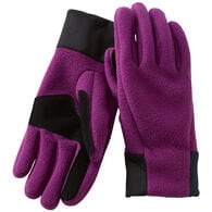 Women's Shoreline Fleece Gloves RICPLUM SM