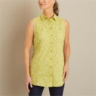 Women's Free Range Cotton Sleeveless Tunic WNEBTKA