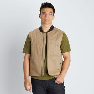 Men's 40 Grit Twill Insulated Vest