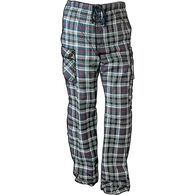 Men's Flannel Cargo Lounge Pants RABPLAD MED 032
