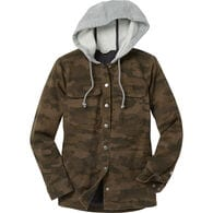 Women's DuluthFlex Fire Hose Lined Hooded Shirt Jac