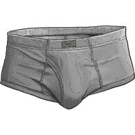 Men's Free Range Cotton Briefs PEWTER SM