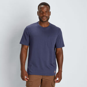 Men's 40 Grit Short Sleeve T-Shirt with Pocket