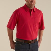 Men's Longtail T Short Sleeve Polo with Pocket COB