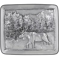 Men's Metal Craft Belt Buckle MOOSE