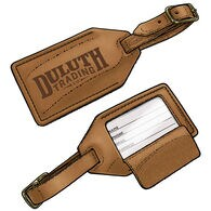 Duluth Trading Leather Luggage Tag