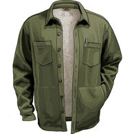 Men's Burly Thermal Sherpa-Lined Shirt Jacket
