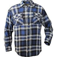 Men's Burlyweight Flannel Shirt BALL POINT BLUE PL