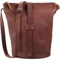 Lifetime Leather Bucket Bag BROWN