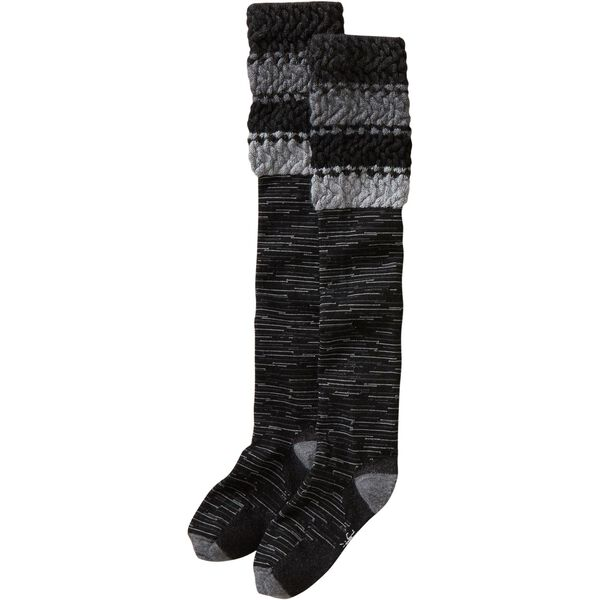 Women's SmartWool Beehive Over the Knee Socks BLAC
