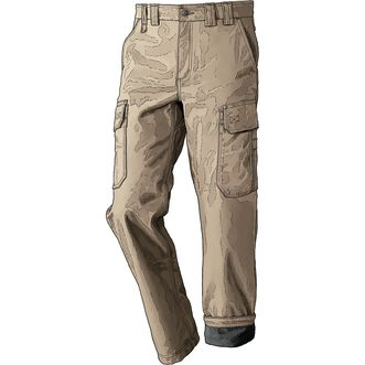 Men's DuluthFlex Fire Hose Fleece-Lined Cargo Work Pants