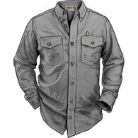 Men's Free Swingin' Chambray Long Sleeve Shirt GRA