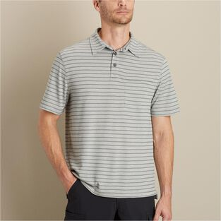 Men's Armachillo Cooling Short Sleeve Stripe Polo
