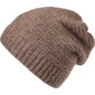 Women's Donegal Fleck Cinched Back Beanie BRNDNGL