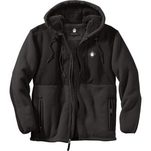 Men's AKHG Bear Hide Hooded Jacket