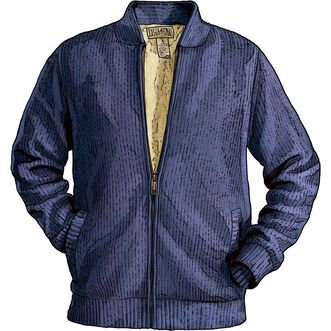 Mens Burly Retirement Sherpa Lined Sweater Jacket Duluth Trading