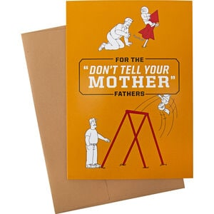 Duluth Trading Father's Day Greeting Card