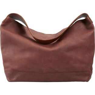 Lifetime Leather Slouch Bag BROWN