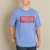 Men's Synthetic Short Sleeve Logo Tee SAPHTHR SM