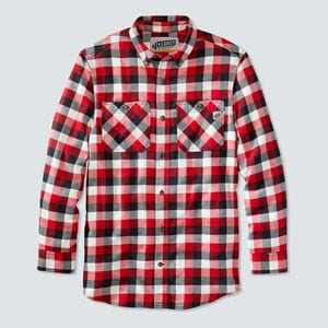 Men's 40 Grit Flannel Standard Fit Work Shirt