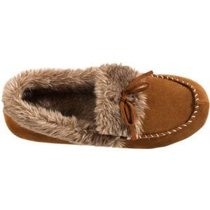Women's Acorn Cozy Fur Mocs