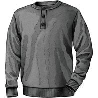 Men's Strongarm Henley Sweater