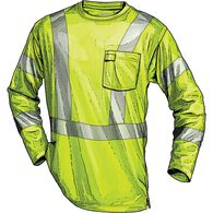 MN Hi-Vis LS Class 3 Tee with Pocket SAFYELL XLG