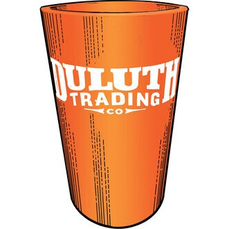 Duluth Trading Silicone Pint Glass TANGERN