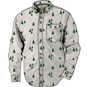 Men's Holiday Long Sleeve Shirt